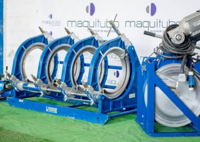 Máquina soldadura tope Maquitubo