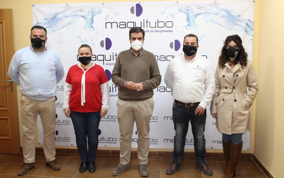 Visita del Alcalde de Loja a Maquitubo