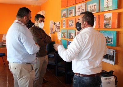 Maquitubo Loja Visita Alcalde Joaquin Camacho